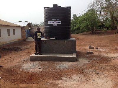 Emmanuel and borehole #1