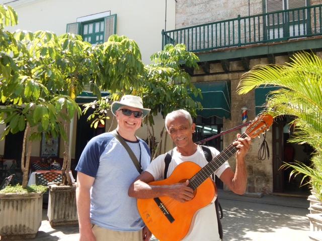 Dennis Green in Cuba