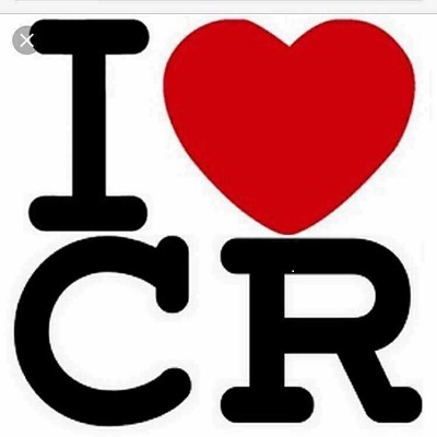 I Love CR logo