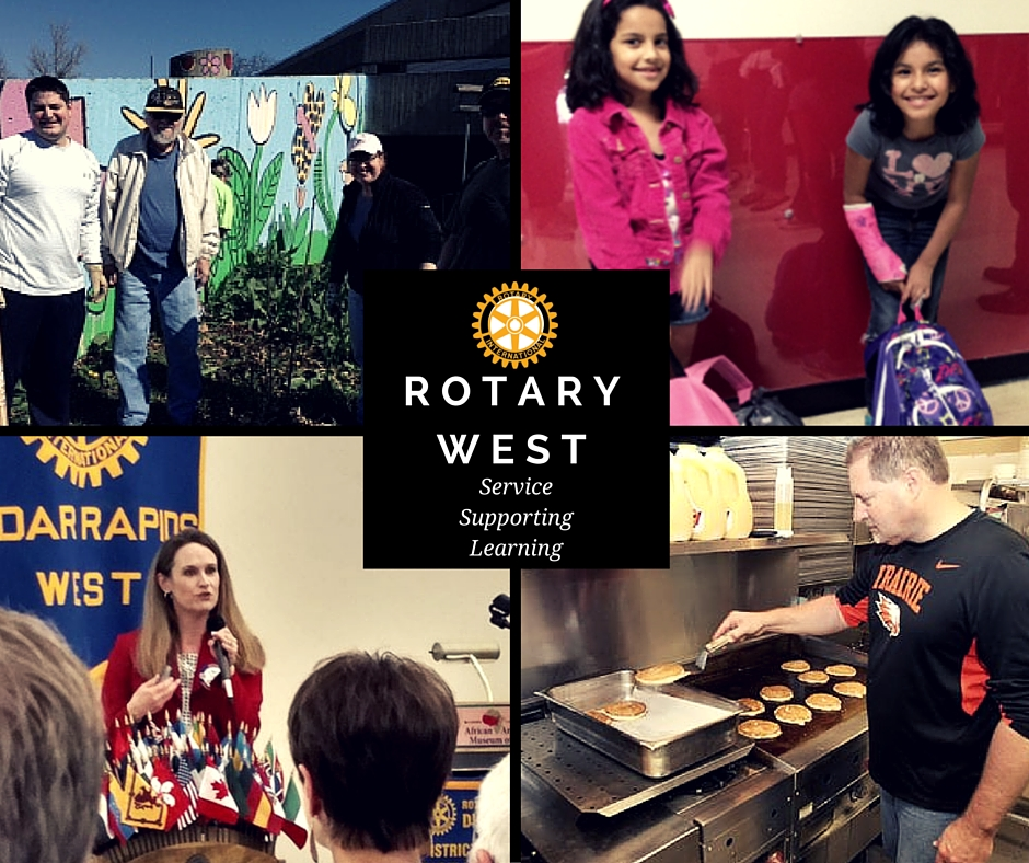 Rotary West-Service Supporting Learning
