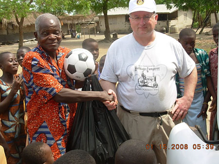 Cedar Rapids West Rotary - Club Service Projects - Ghana ...